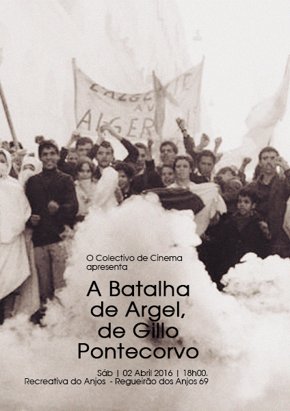 A BATALHA DE ARGEL de GILLO PONTECORVO_cartazweb